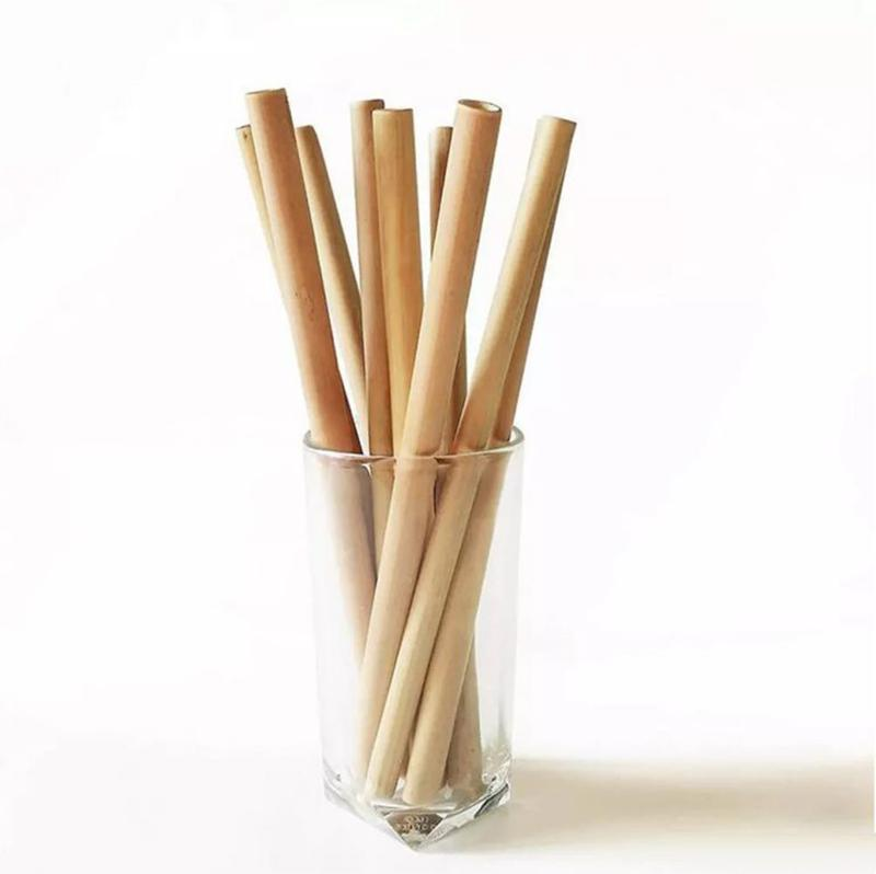 Eco-friendly straw from Java island wild bamboo