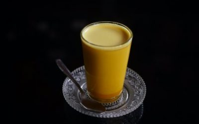 Healthy drink from Raw Wild Turmeric – Ayurvedic golden tonic