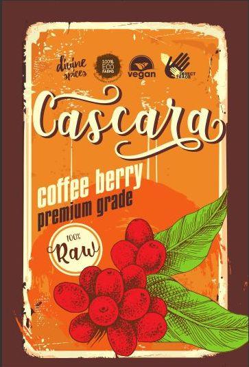 Cascara coffee berry fruit