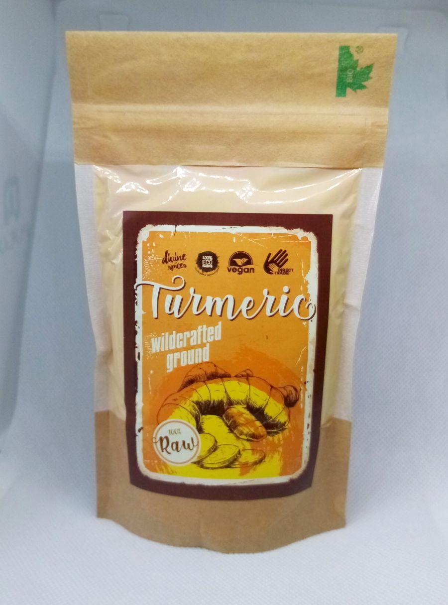 Raw Wild crafted Turmeric – 100g